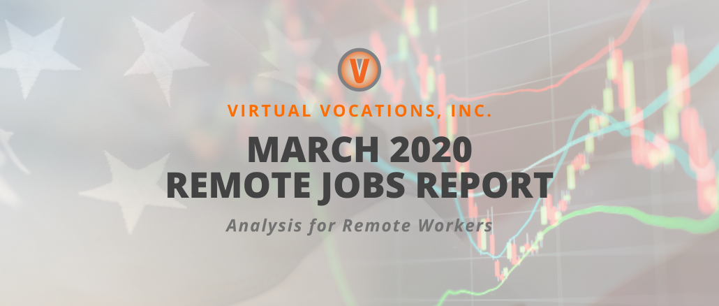 March 2020 Remote Jobs Report - Virtual Vocations