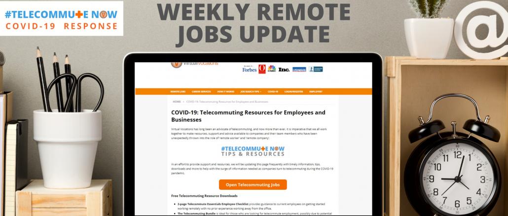 remote companies hiring