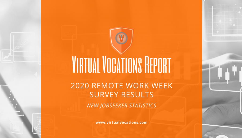 2020 remote work week survey results  u2014 new jobseeker
