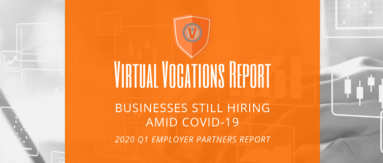 Virtual Vocations - businesses still hiring amid COVID-19 - 2020 Q1 Employer Partners report