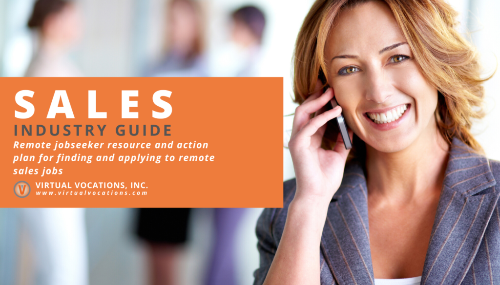 Guide to Remote Sales Jobs - Virtual Vocations Industry Guide
