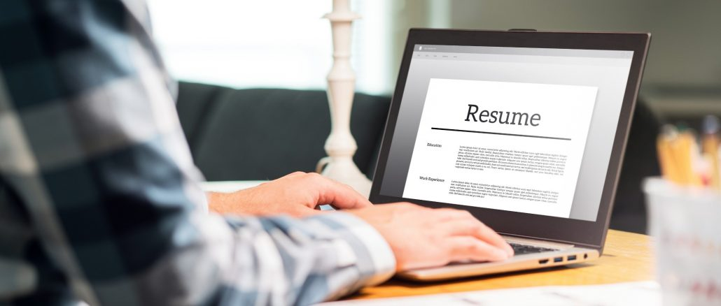 Using Virtual Vocations professional career services to write resume