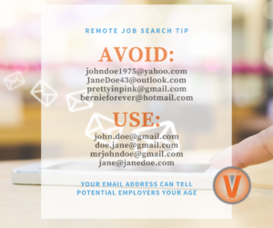 Avoid using these emails in your job search