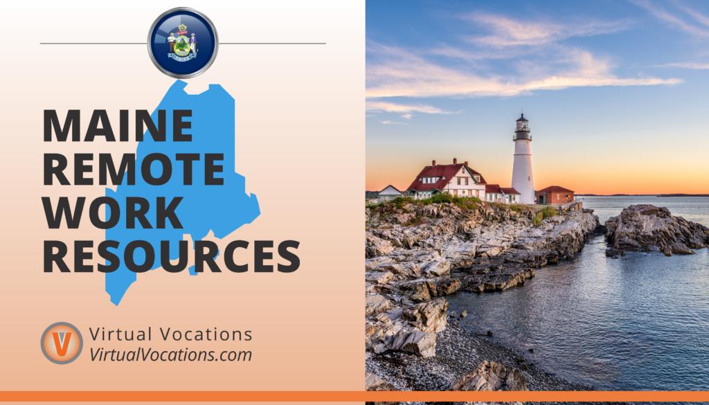 Maine Remote Work Resources
