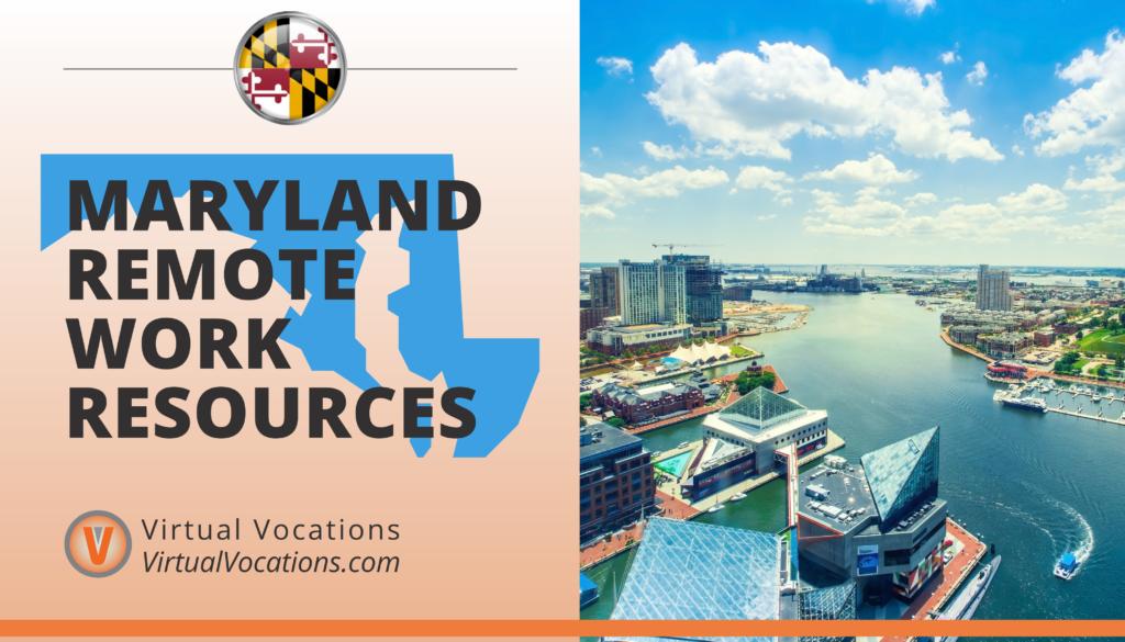 Maryland Remote Work Resources