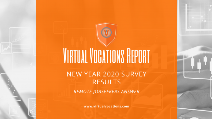 New Year 2020 survey - Virtual Vocations remote jobs