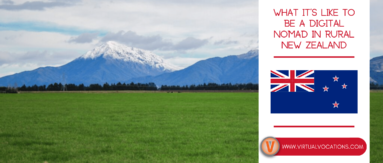 Learn what it's like to be a digital nomad in New Zealand with tips from Virtual Vocations very own Eric Schad