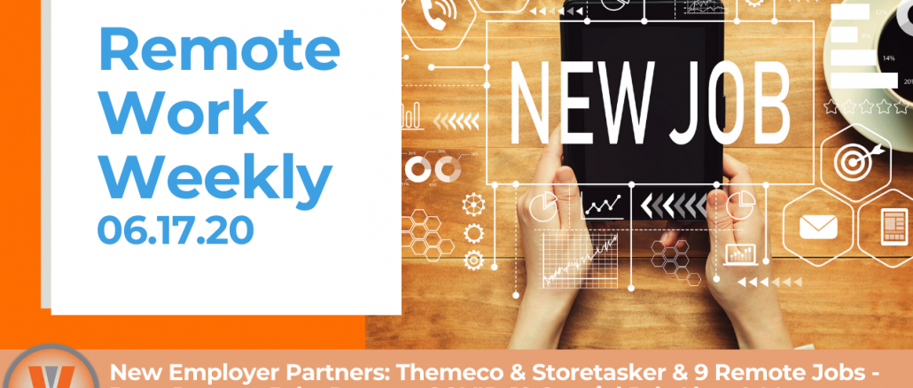 Remote Work Weekly Video Themeco and Storetasker