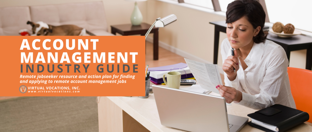 Virtual Vocations - Guide to Remote Account Management Jobs