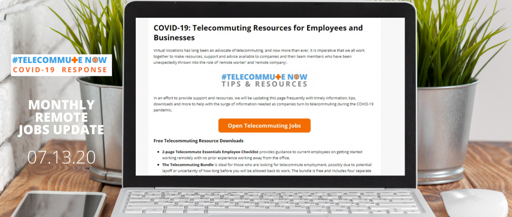 Companies Hiring During COVID-19 before unemployment benefits lapse.