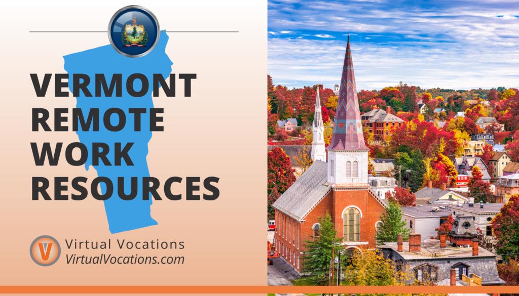 Vermont Remote Work Resources