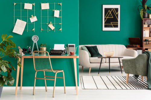 Becoming a minimalist will help you de-clutter and stay organized when you work from home.
