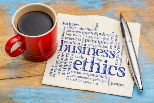 Business ethics and a code of conduct are two essential parts of  well-constructed remote work policies.