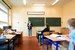 Classrooms may look different for several semesters following the onset of COVID-19