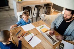 Jobs for work from home parents