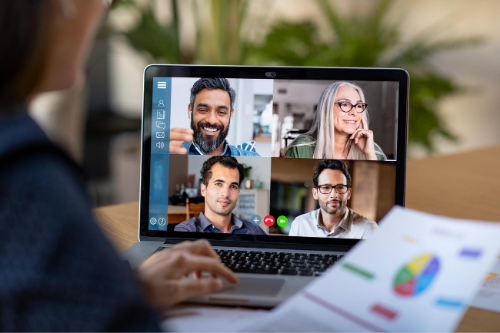 Using video-conferencing technology and other digital programs can make the job easier for accountants working from home.