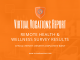 Virtual Vocations - Remote Health and Wellness Survey Results