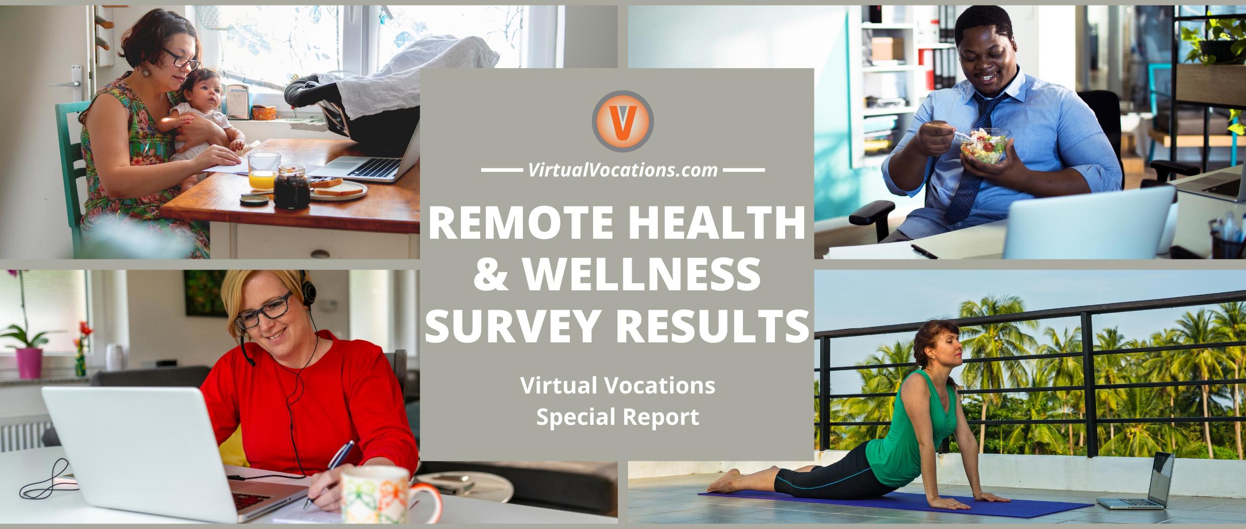 Virtual Vocations - Remote Health and Wellness Survey