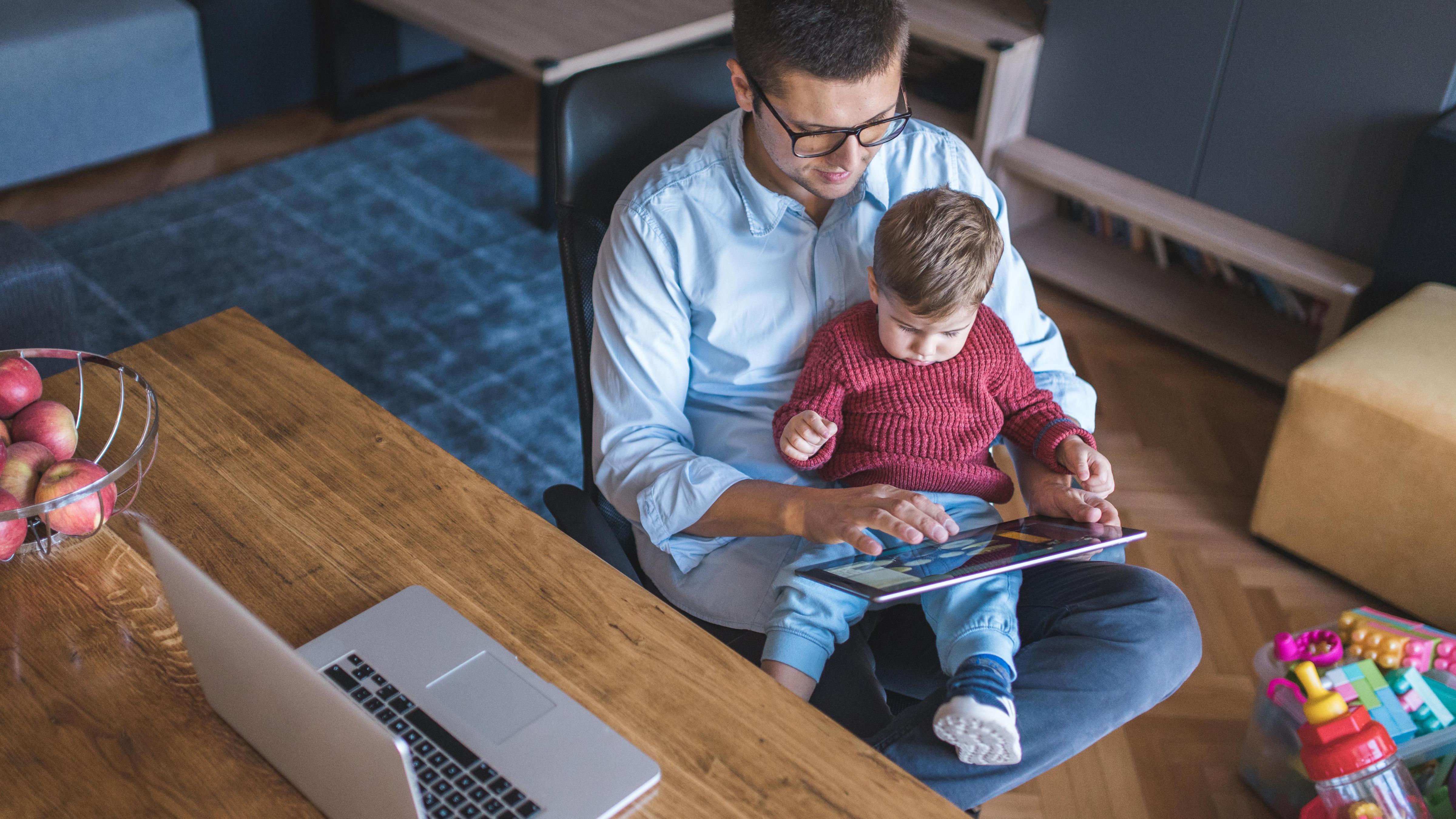 Virtual Vocations - Remote Work Schedule Templates - Single Parents