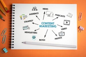 Content marketing involves the online sharing of materials to build your brand.