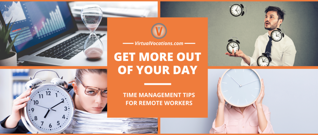 Using time management tips for remote workers can help most telecommuters find balance between work and personal life.