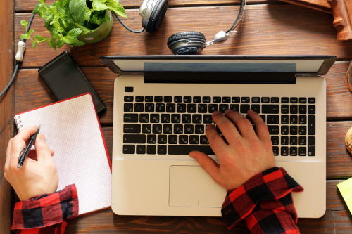 Hardware upgrades, such as your computer, printer, keyboard, and mouse, can make your life easier as a work from home employee or freelancer.