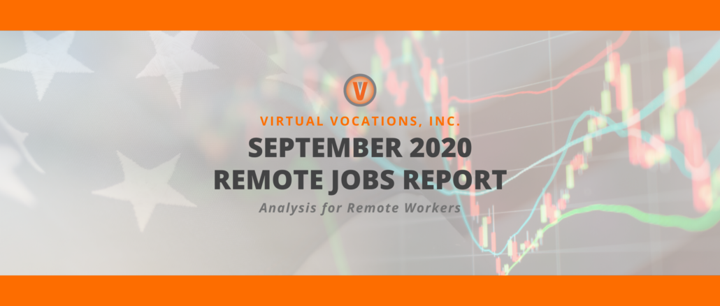 Virtual Vocations - September 2020 Remote Jobs Report