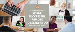 What Successful Remote Jobseekers Do - Actionable Stats Report