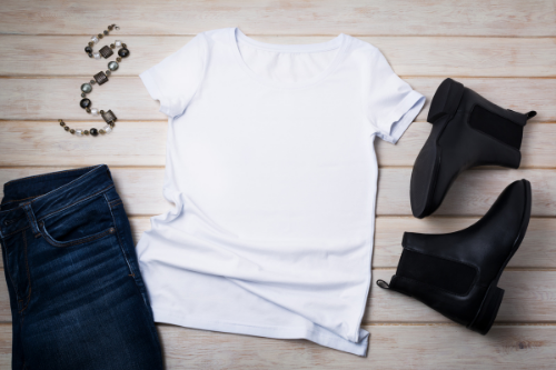 Wardrobe basics are an essential part of the ideal work from home wardrobe.