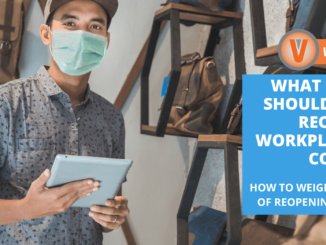 Employers have many questions to ask about reopening workplaces during COVID-19, but weighing the safety of your business, profitability, and other measures can help business owners make the right decision.