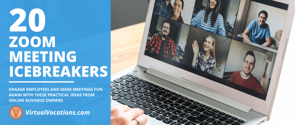 With these Zoom meeting icebreakers, managers and employers can inject some excitement and fun into their online meetings.