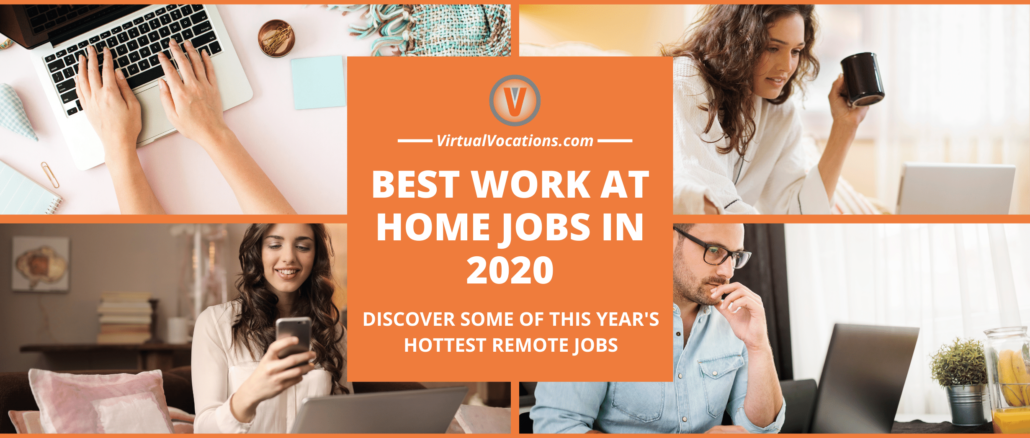 Best Work at Home Jobs in 2020