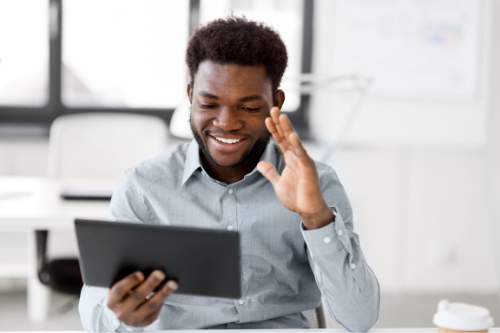 Regular and frequent communication can drastically guide and help work from home employees.