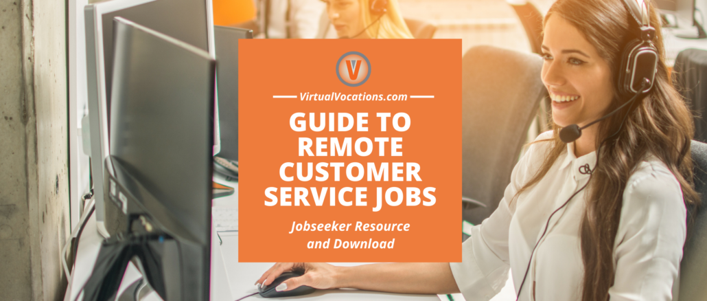 Virtual Vocations - Remote Customer Service Jobs Guide