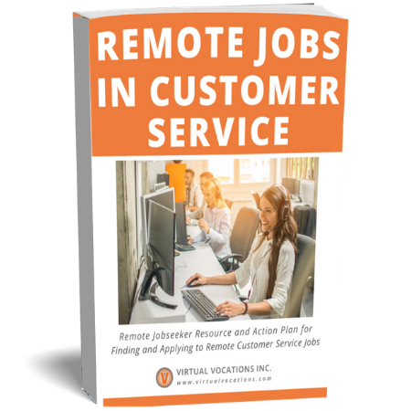 Virtual Vocations Remote Customer Service Jobs Guide - PDF Download
