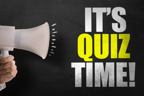 Quiz time promotes team building and engages employees.