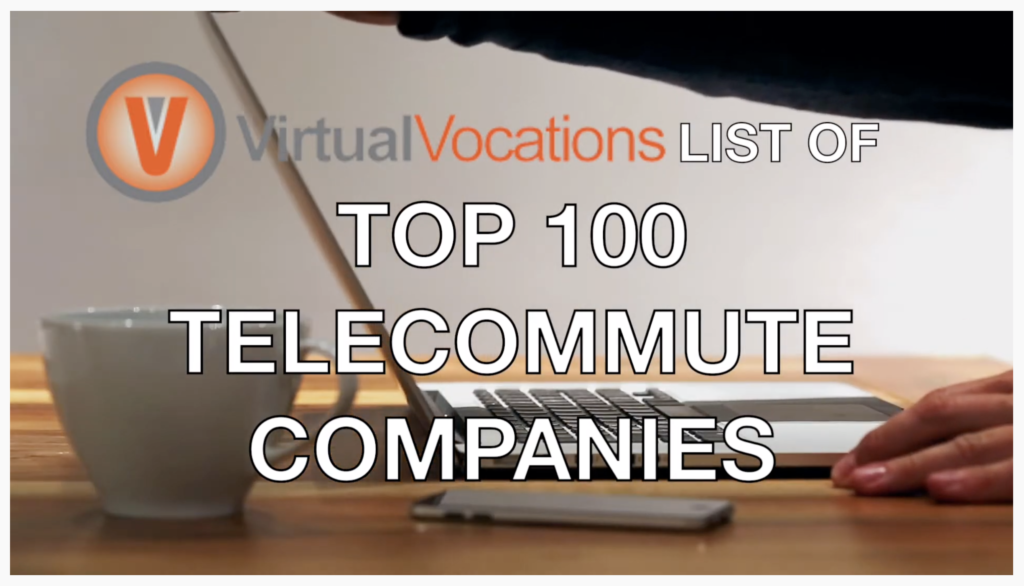 2018 Top Remote Companies Virtual Vocations