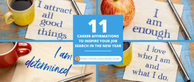 Making some career affirmations will help you overcome self-doubt and put you on a better path to remote job success.