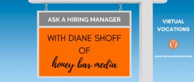 Discover how to ace an interview and land a work from home real estate job with advice from Diane Shoff of Honey Bar Media.