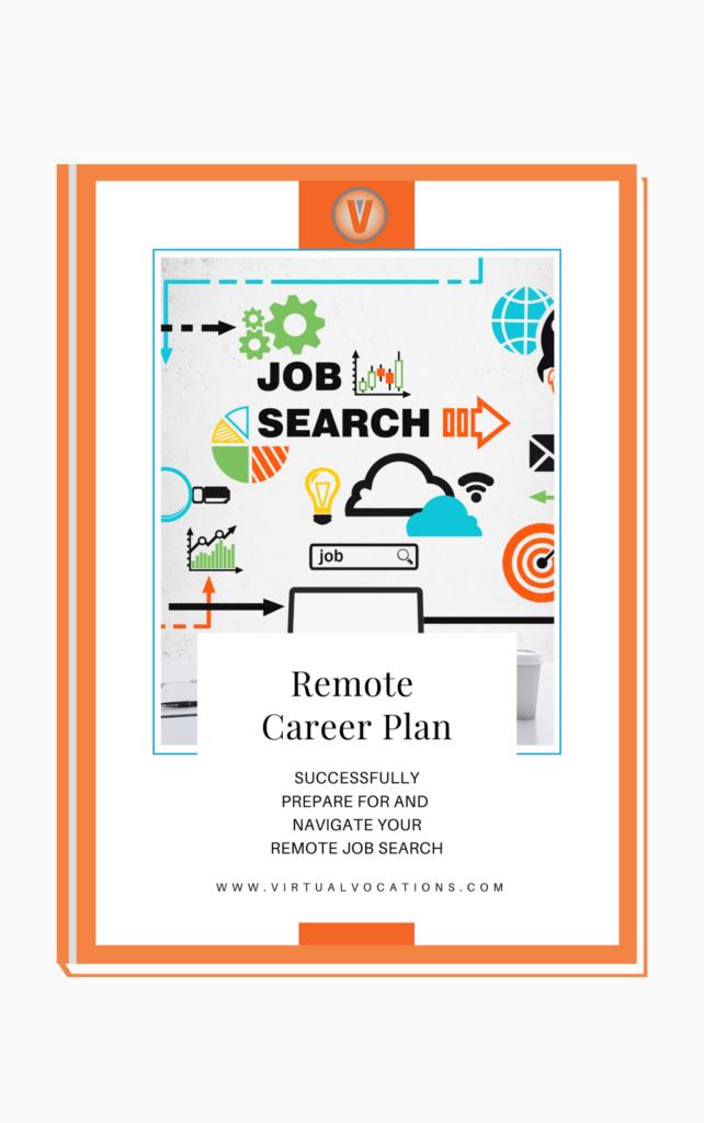 Job search remote career plan