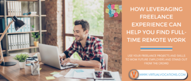 Discover how leveraging freelance experience can open doors to full-time employment.
