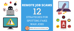 Learn how to spot fake WAH job scams and avoid the hassle of identity theft or monetary loss.