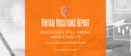 Virtual Vocations - Businesses Still Hiring Amid COVID-19 - Q4 Employer Partners Report