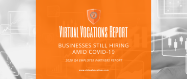 Virtual Vocations - Businesses Still Hiring Amid COVID-19 - Q4 Employer Partners Report