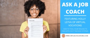 Learn how to pass ATS software with tips from Holly Leyva in this month's Ask a Job Coach.