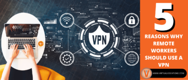 With more people working from home, security is integral. Find out why every remote work should use a VPN.