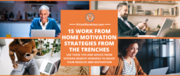 Use these work from home motivation strategies to boost your productivity and reduce burnout.