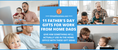 Get the man of the house something he'll use with these Father's Day gifts for work from home dads.