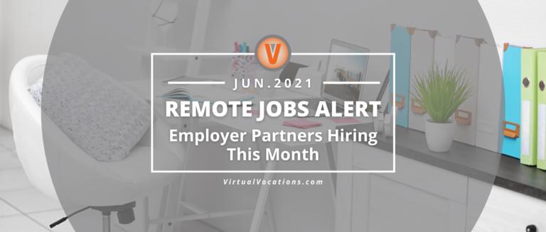 Employer partners alert June 2021