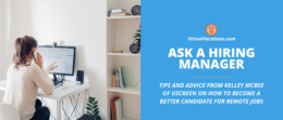 Learn how to land an exciting online job with tips from Kelley McBee of Uscreen.